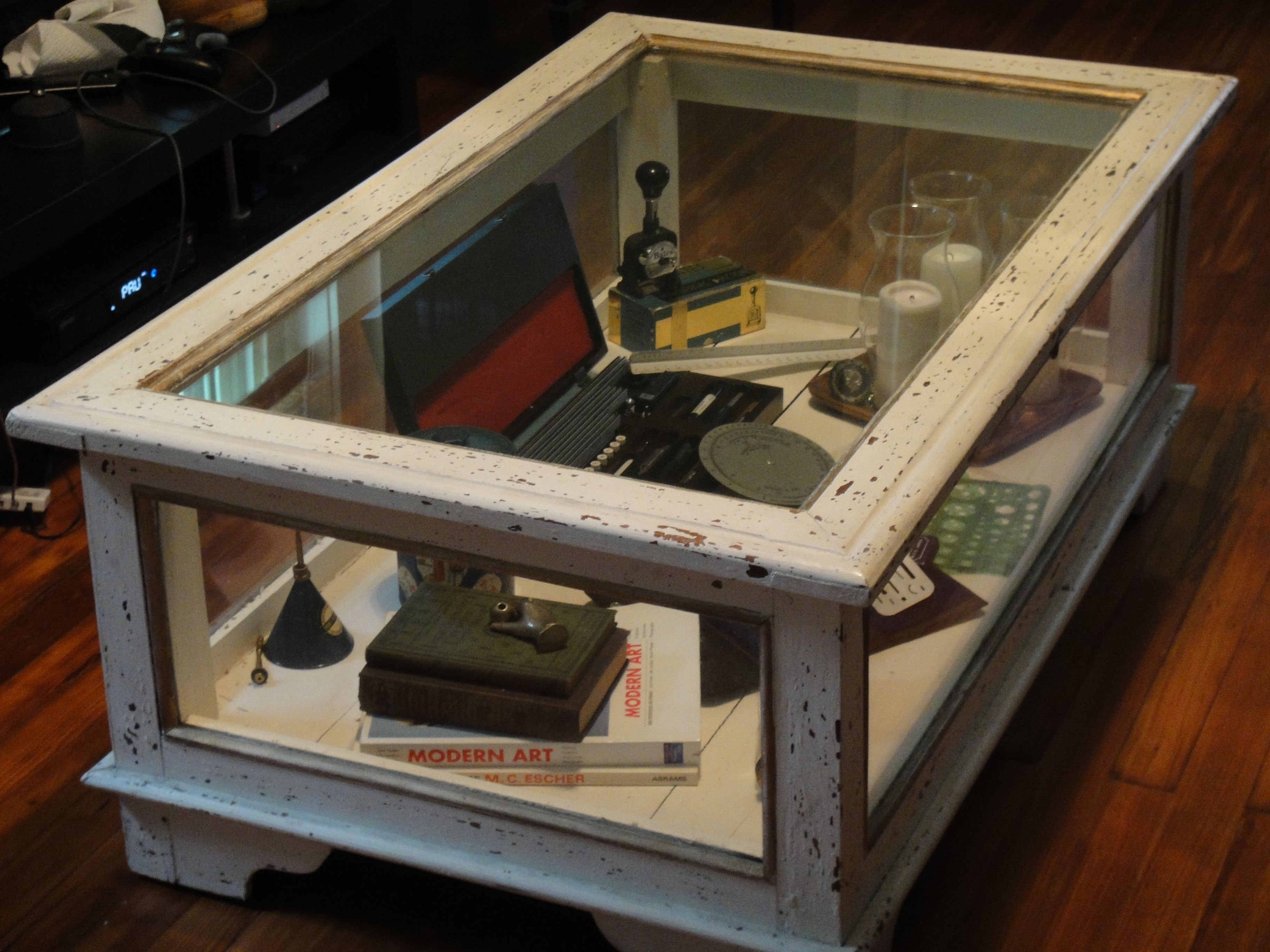 Living Room Chest Coffee Table Livingroomtable Coffetable Display Coffee Table Coffee Table Display Case Shadow Box Coffee Table [ 2736 x 3648 Pixel ]