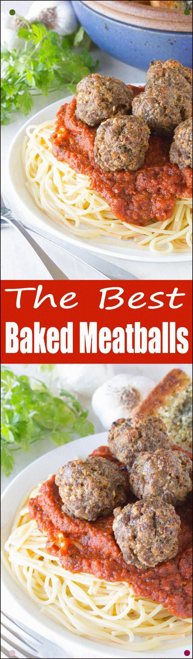 Photo of These Are The Best Baked Meatballs Out There A Crispy Crust …