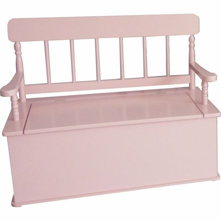 Simply Classic Pink Storage Bench