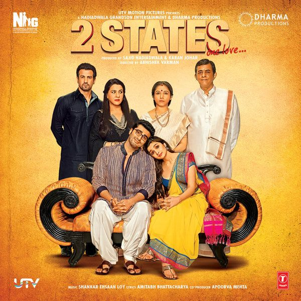 2 States 2014 Dvdscr Hd 700mb 720p Mkv Movies Free Movies Online 2 States Movie Marriage Movies Hindi Movies