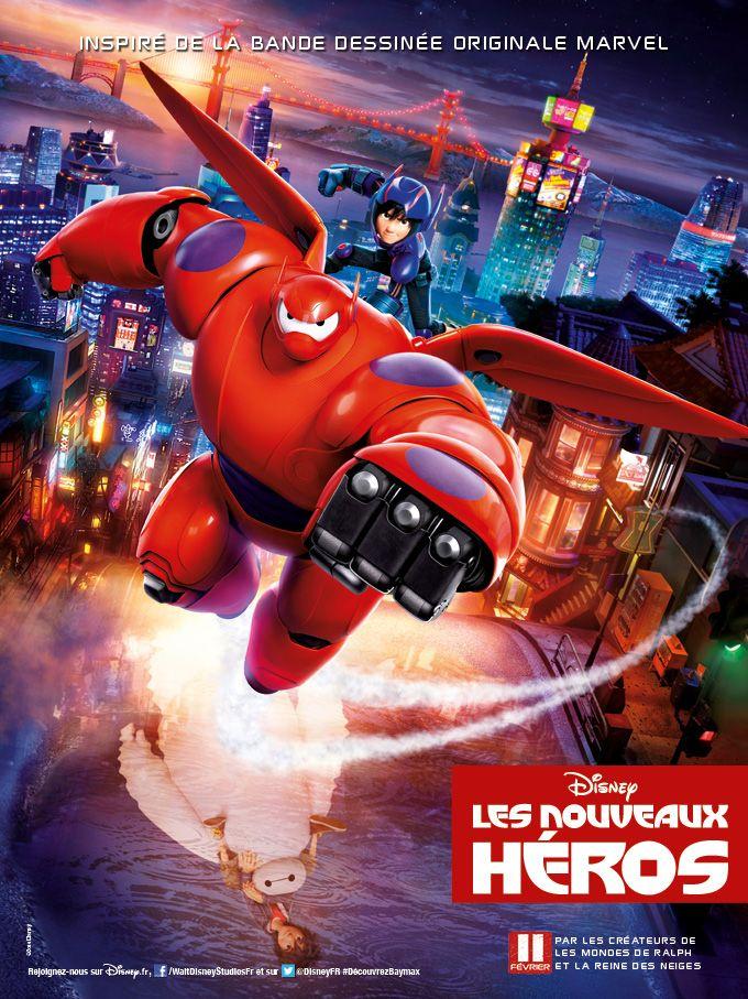 Big Hero 6 Les Nouveaux Heros Heros Heros Film