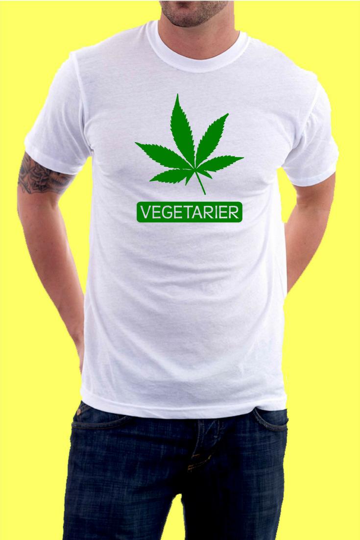 Tshirt Vegetarier 01 | Coole und lustige Männer T-Shirts | Pinterest ...