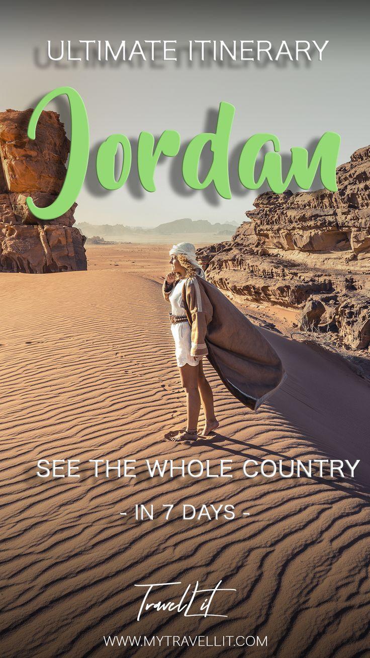 Jordan Itinerary - Plan Trip to Jordan #traveltojordan