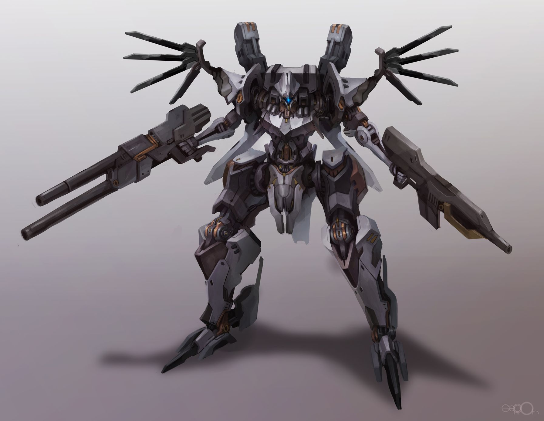 Armored core redesign by zgul-osr1113.deviantart.com on @deviantART