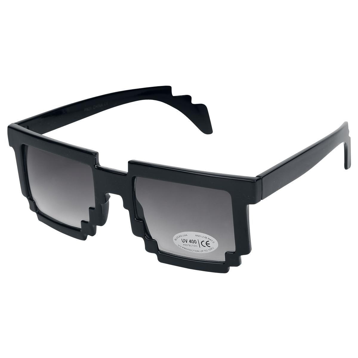 Gafas de sol retro look pixel. Las gafas de sol tienen cristales ...