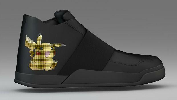 """En lo más fffres.co: Unas zapatillas """"inteligentes"""" creadas para cazar Pokémon: Aunque la fiebre por Pokémon Go no ha hecho… #Interactivo"""