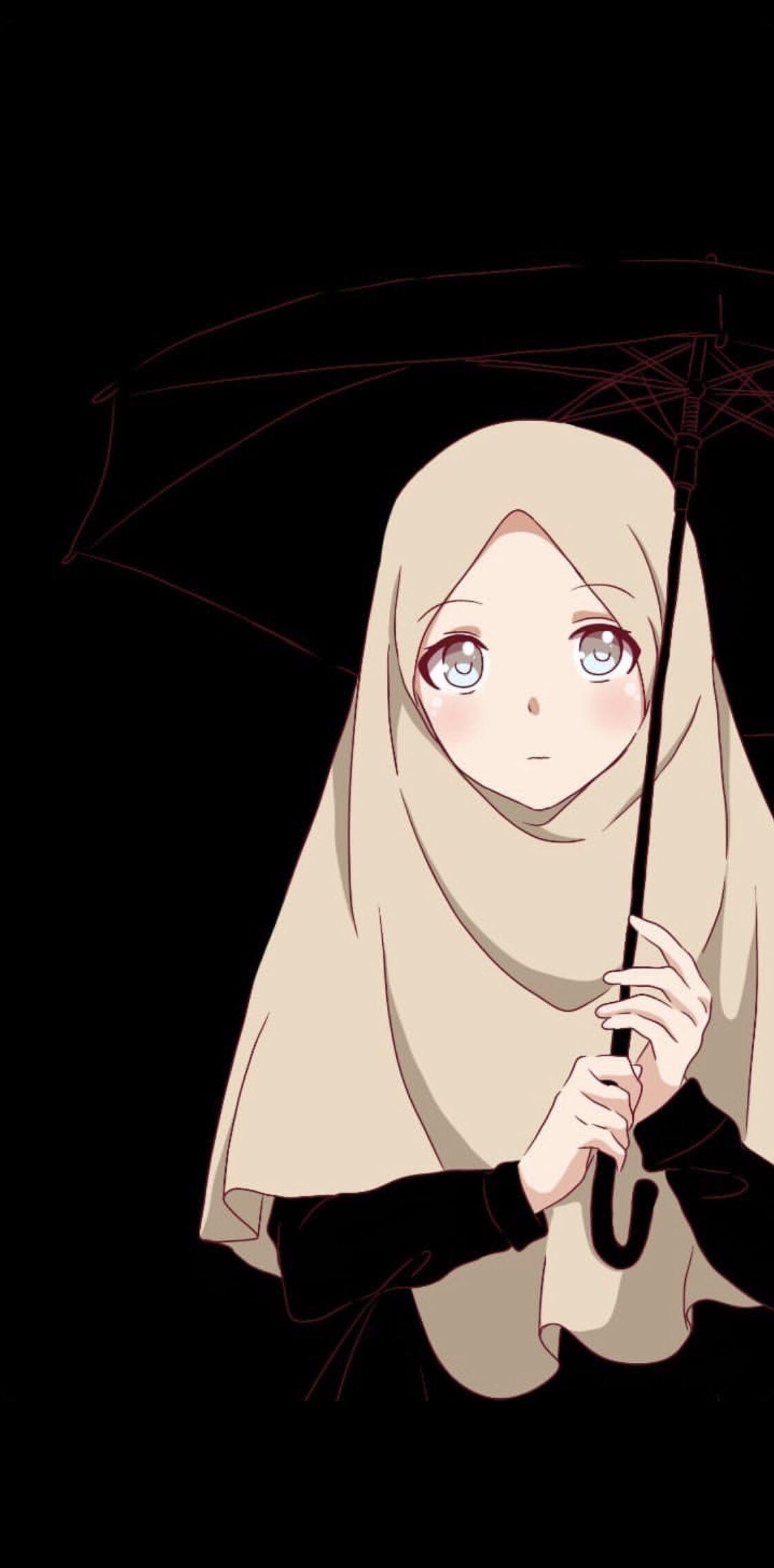 Pin Oleh Sarah Eldakak Di Muslim Anime Ilustrasi Karakter