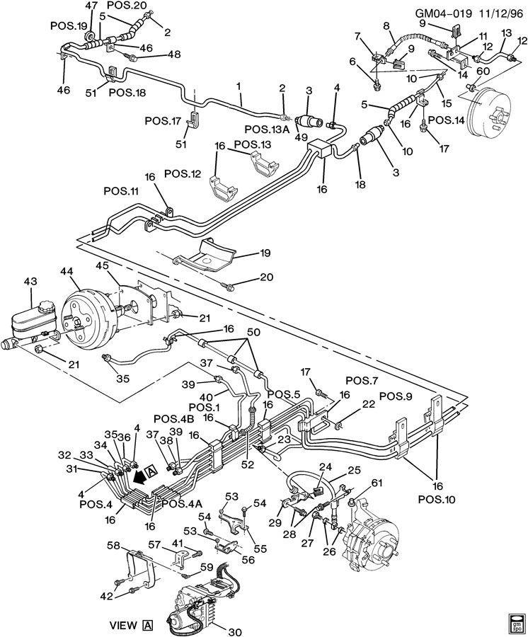 Designs Rear Brake Line Diagram 2000 Chevy Silverado 1500