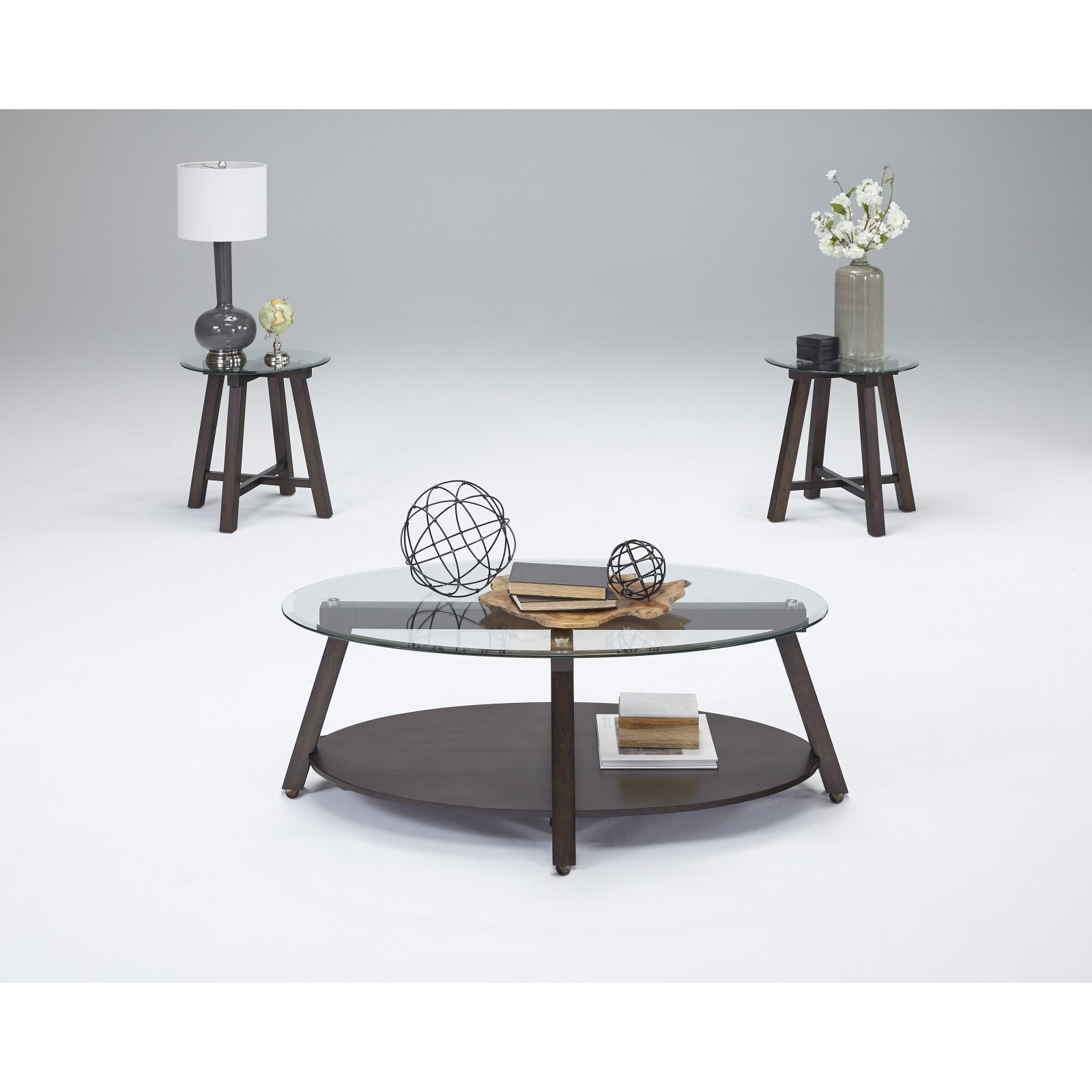Progressive Furniture Royden 3 Piece Coffee Table Set Products
