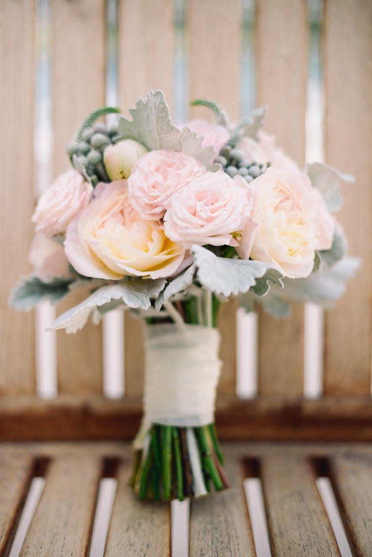 Blush Peony Garden Rose Bridal Bouquet By San Diego Wedding
