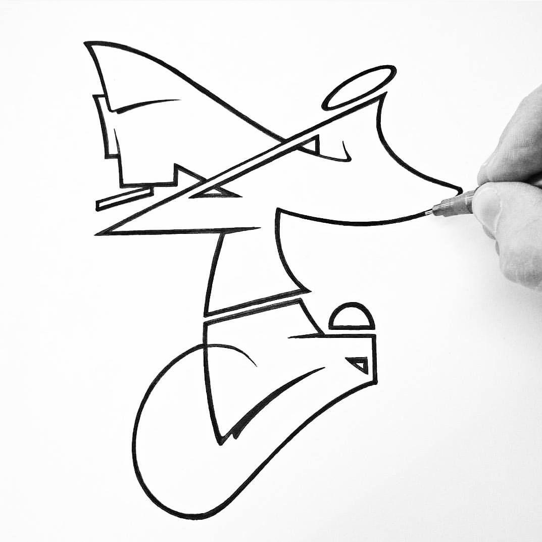 T #Type #Graffiti #letterin | GraГГt!t! Alphabet | Graffiti