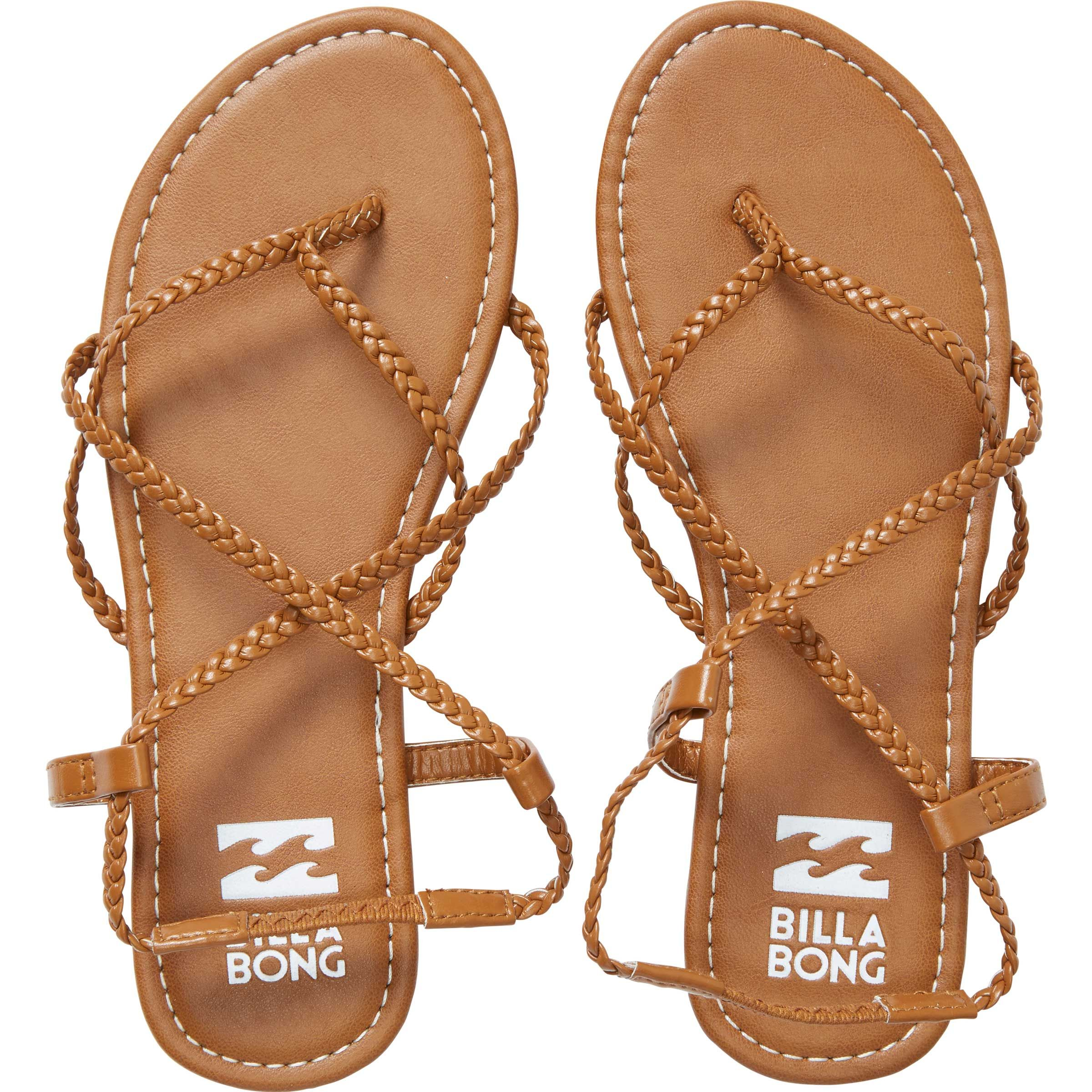20c8cbbb773 Get free shipping at the Billabong online store. Cross step your way into  sandal season with low profile