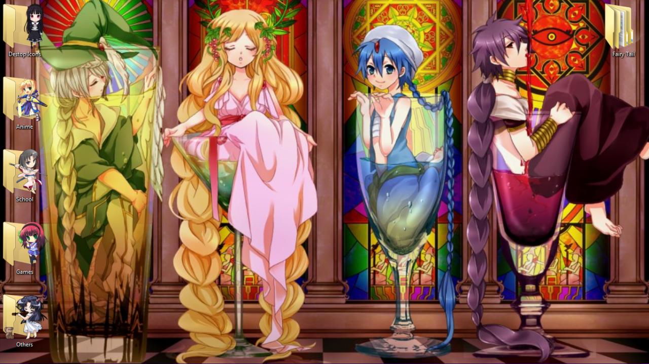 Anime — The 4 Magi from the anime/manga Magi (Yunan is my