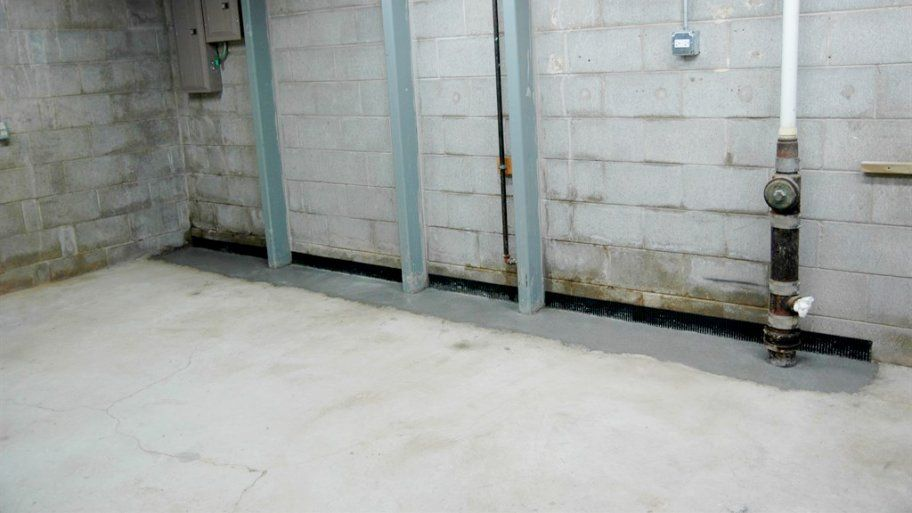 How Much Does It Cost To Install A Concrete Floor In A Cellar Concrete Floors Waterproofing Basement Floor Restoration