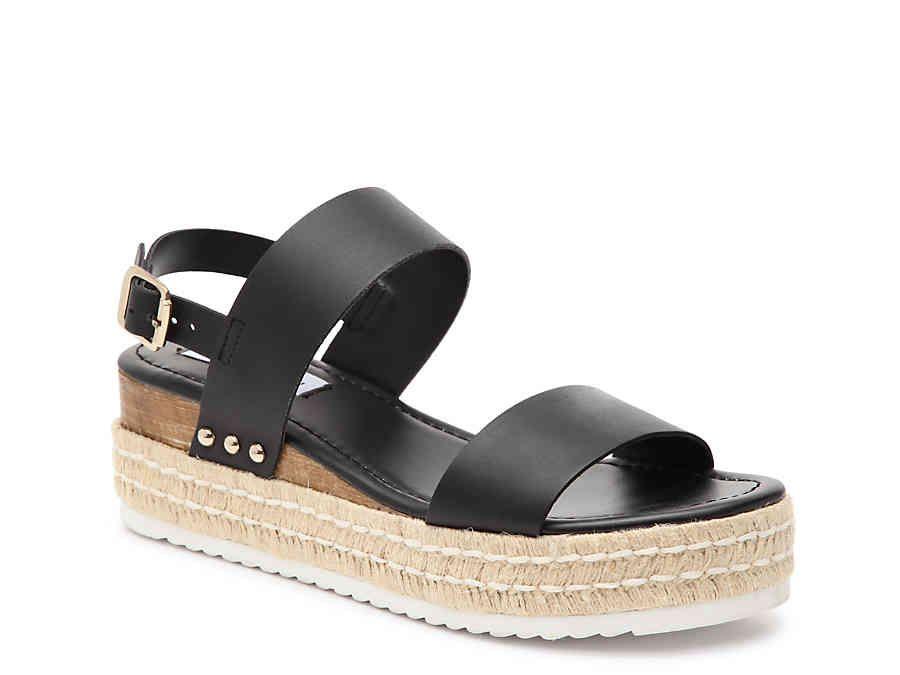 cb979252b27 Steve Madden Catia Espadrille Wedge Sandal Women's Shoes | DSW ...