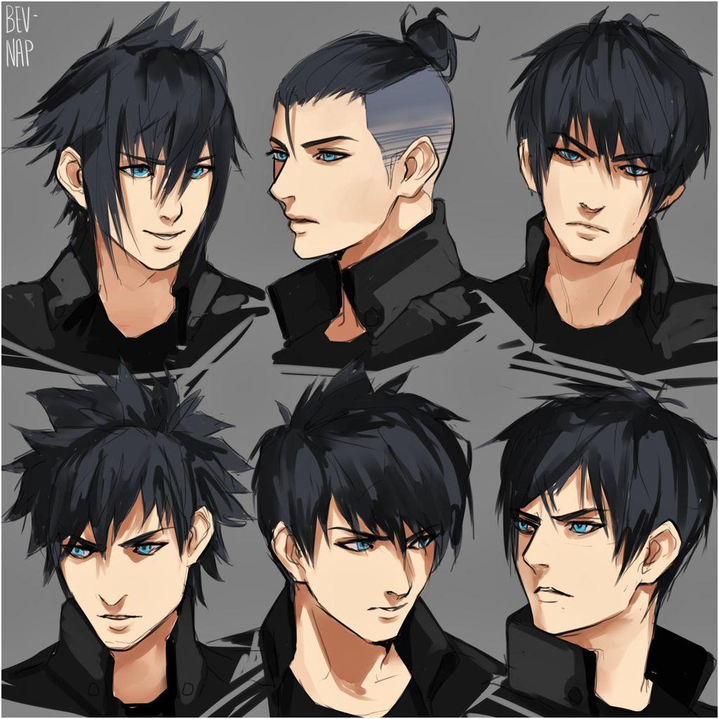 how to draw anime boy digital