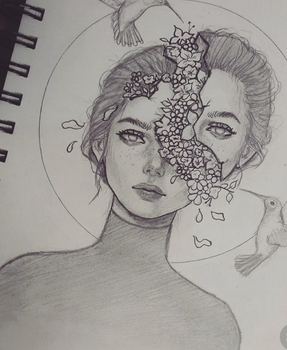 Pinterest suethoughts drawings in pencil hard drawings girl pencil drawing pretty girl