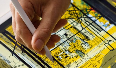 Architecture Drawing Ipad apple launches ipad pro and apple pencil for drawing | apple