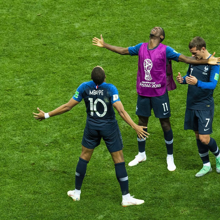Coupe du monde FranceCroatie la joie des Bleus en