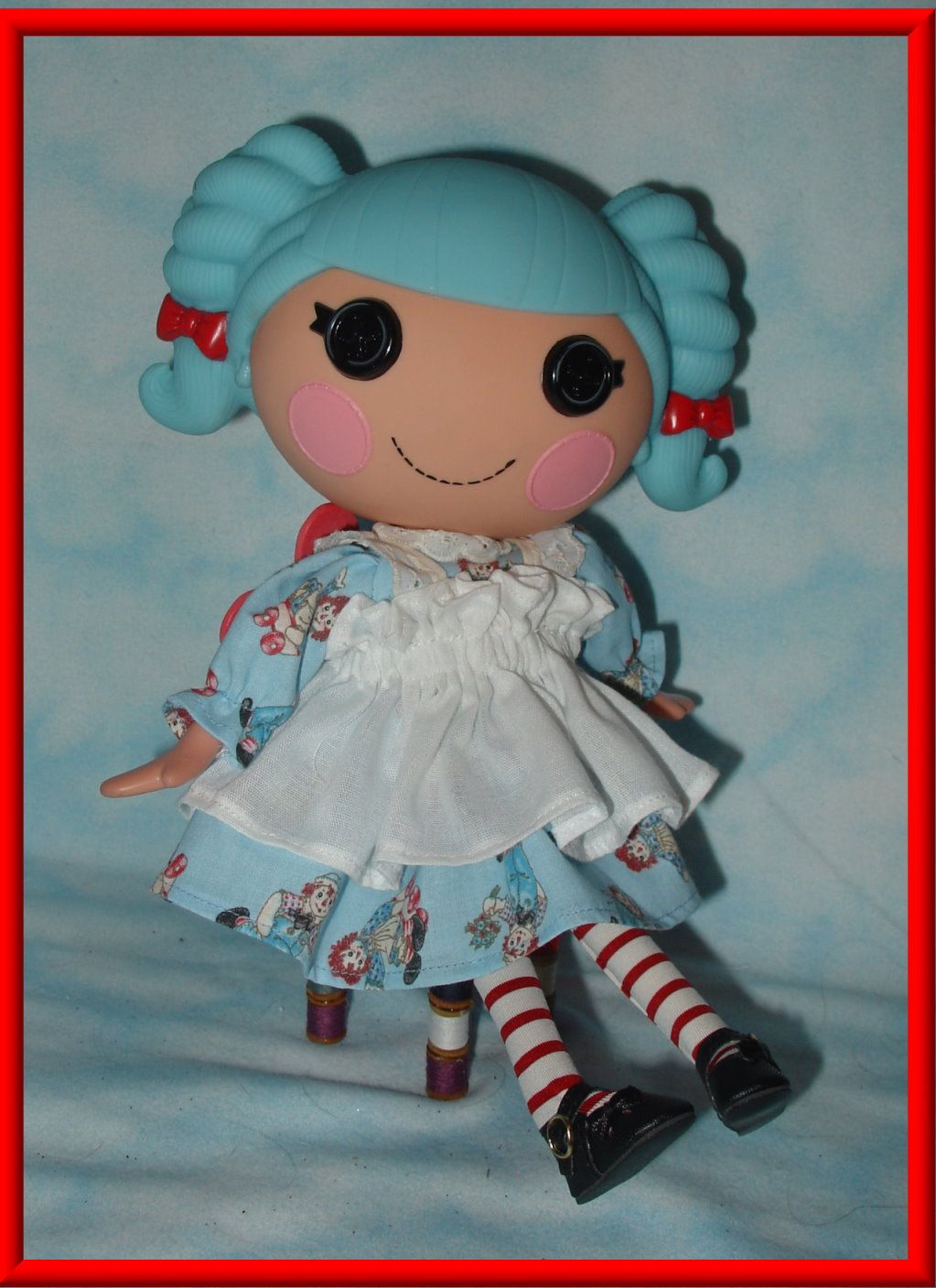 Image detail for -Raggedy Ann outfit for Lalaloopsy dolls 2 piece ...