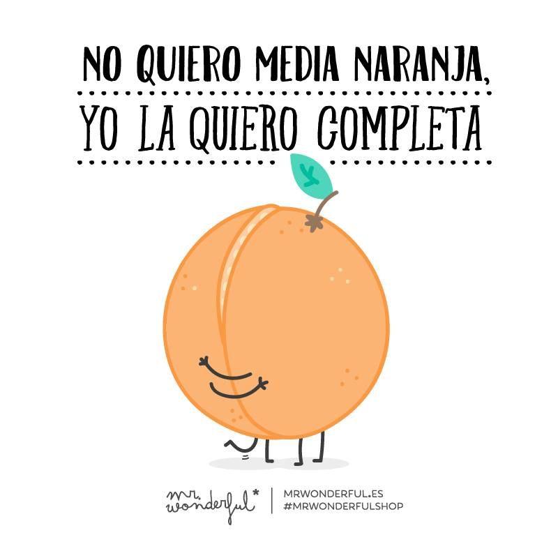 Media Naranja Frases Frases De Amor Frases Bonitas Y