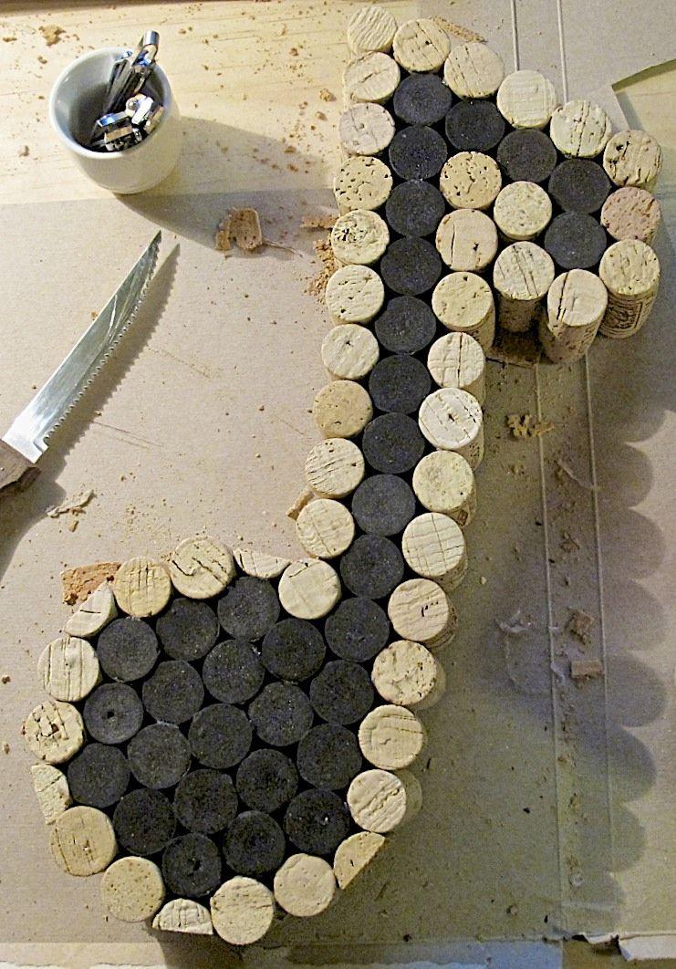 l a s creations 1 8 note cork board d coration musique anniversaire musique et. Black Bedroom Furniture Sets. Home Design Ideas