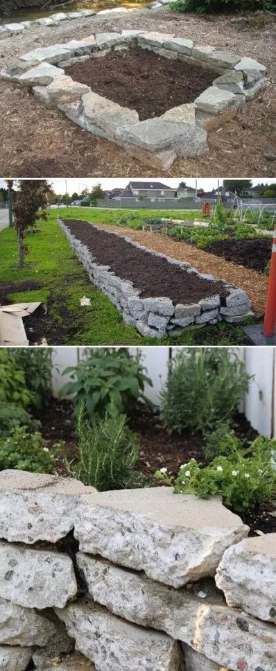 46+ Simple Raised Vegetable Garden Bed Ideas 2019 - FarmFoodFamily #erhöhtegartenbeete