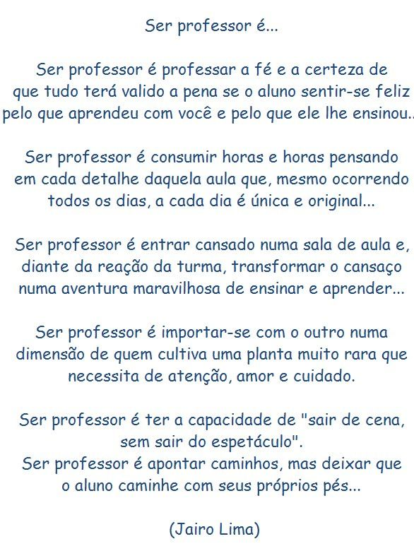 Well-known Mensagem Dia dos Professores Facebook … | Pinteres… BV73