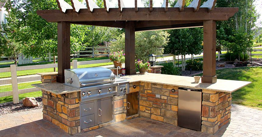 images about outside ideas on   patio, fireplaces, Backyard Ideas