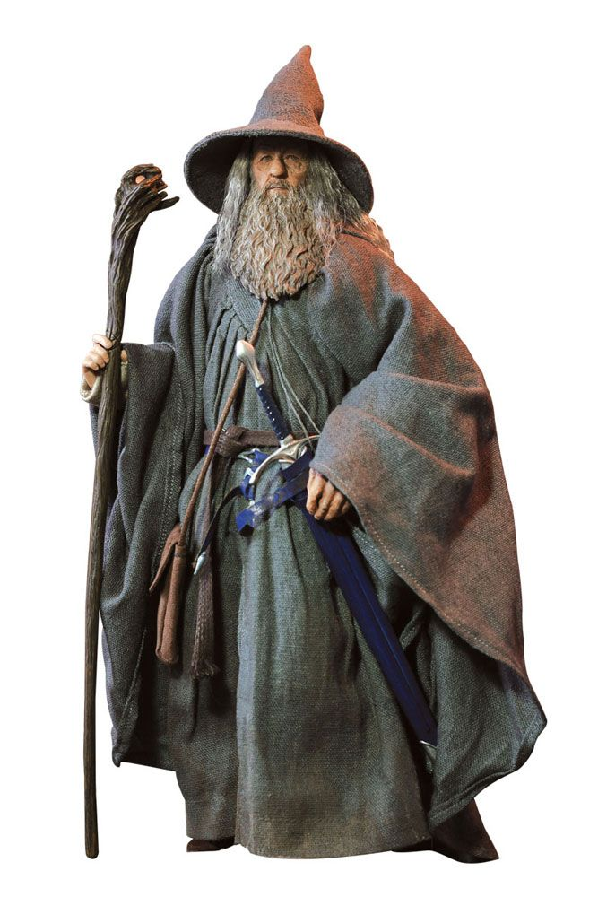 Le Seigneur des Anneaux Gandalf Magicien Halloween Cosplay Costume Fantaisie Homme Tenue Hot