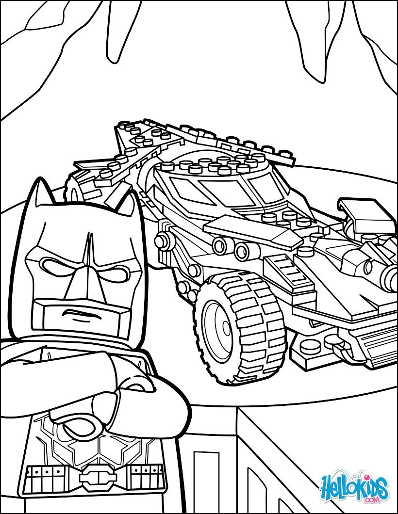 Lego Coloring Pages For Kids Batman coloring pages, Lego