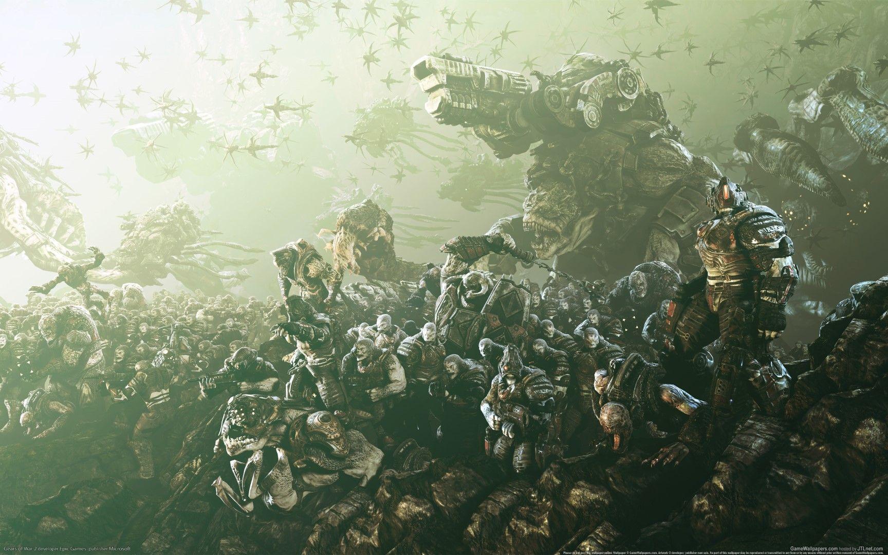 Wallpaper Gears Of War 2 10 Gears Of War 3 War Artwork Gears Of War