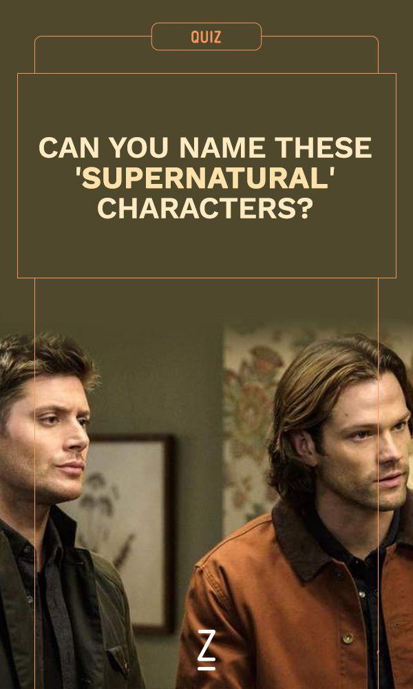 supernatural test quiz