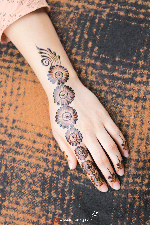 نقش الحناء الجميل البسيط أحدث تصميم نقش الحناء العربي للأيدي الخلفية 2020 Mehndi Designs For Hands Bridal Mehndi Designs Mehndi Designs