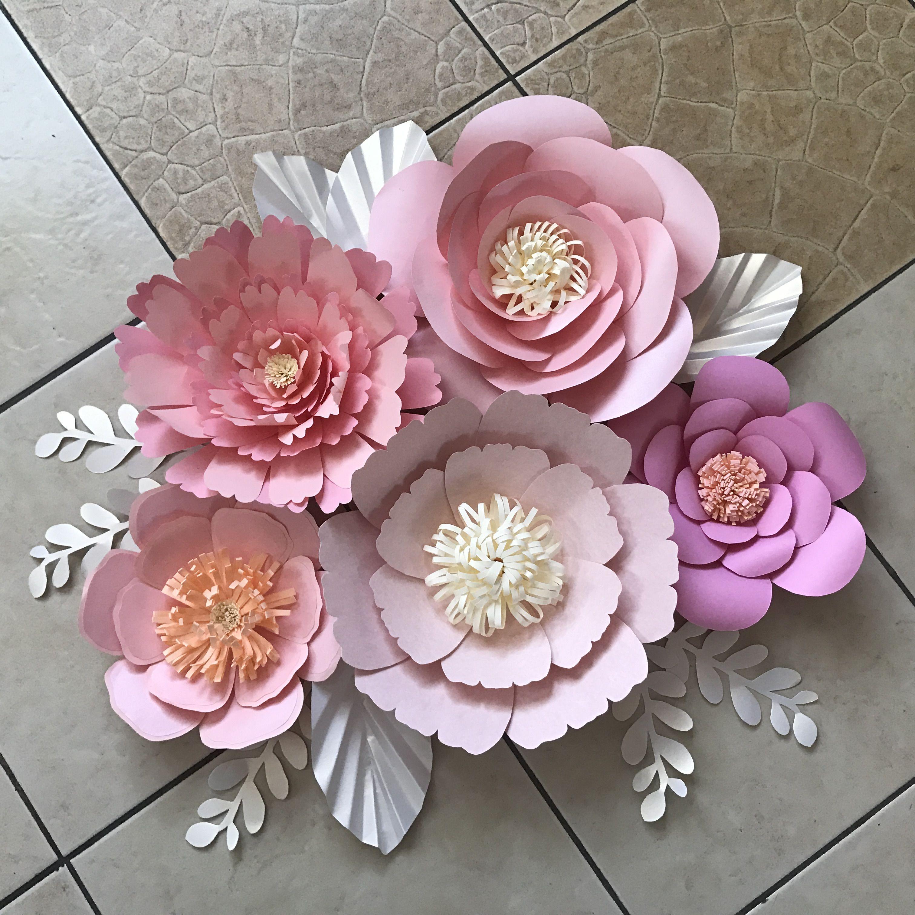 можно сделать красивые бумажные цветы картинки это