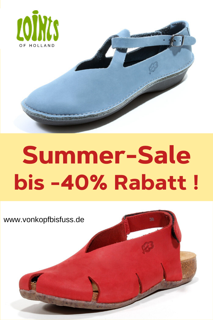 loints-schuhe summer-sale bei vonkopfbisfuss | bequeme