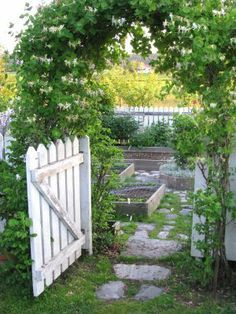 """Garden gate.......yes!!!! with/under my """"arbor-to-be"""""""