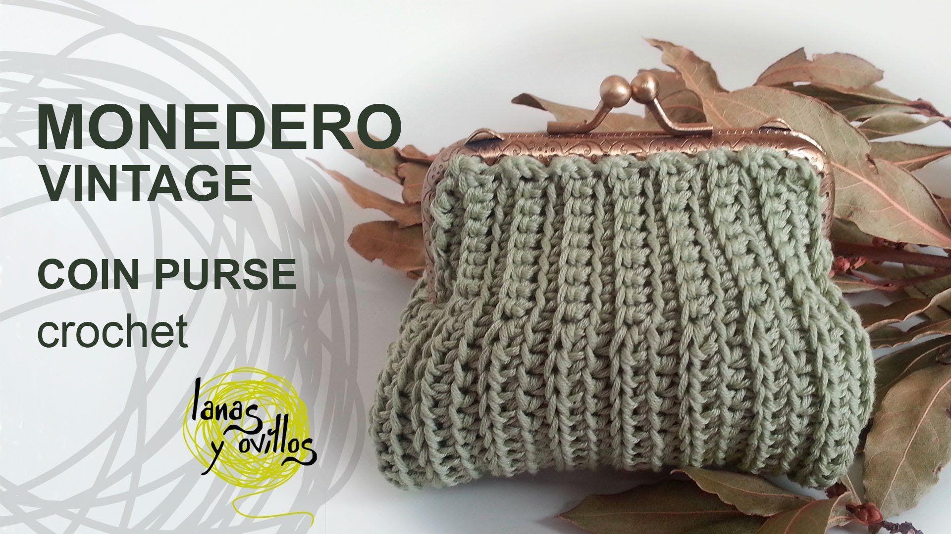 Puedes Ver El Patron Gratuito Aqui Httpgoogl24fizy Tutorial De - Monedero-crochet-patron
