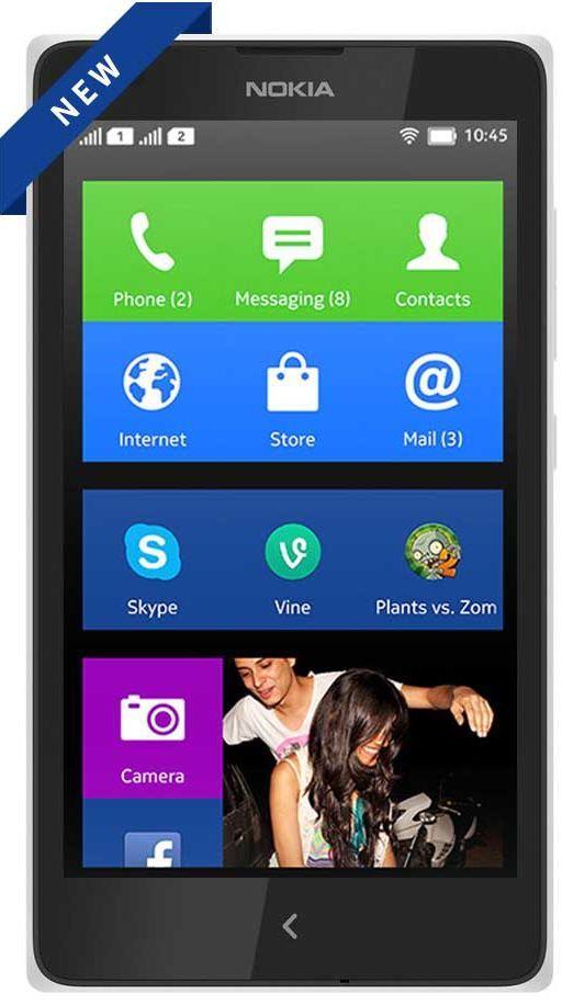 Nokia X Dual Sim Price: Buy Nokia X Dual Sim Online in India - Infibeam.com