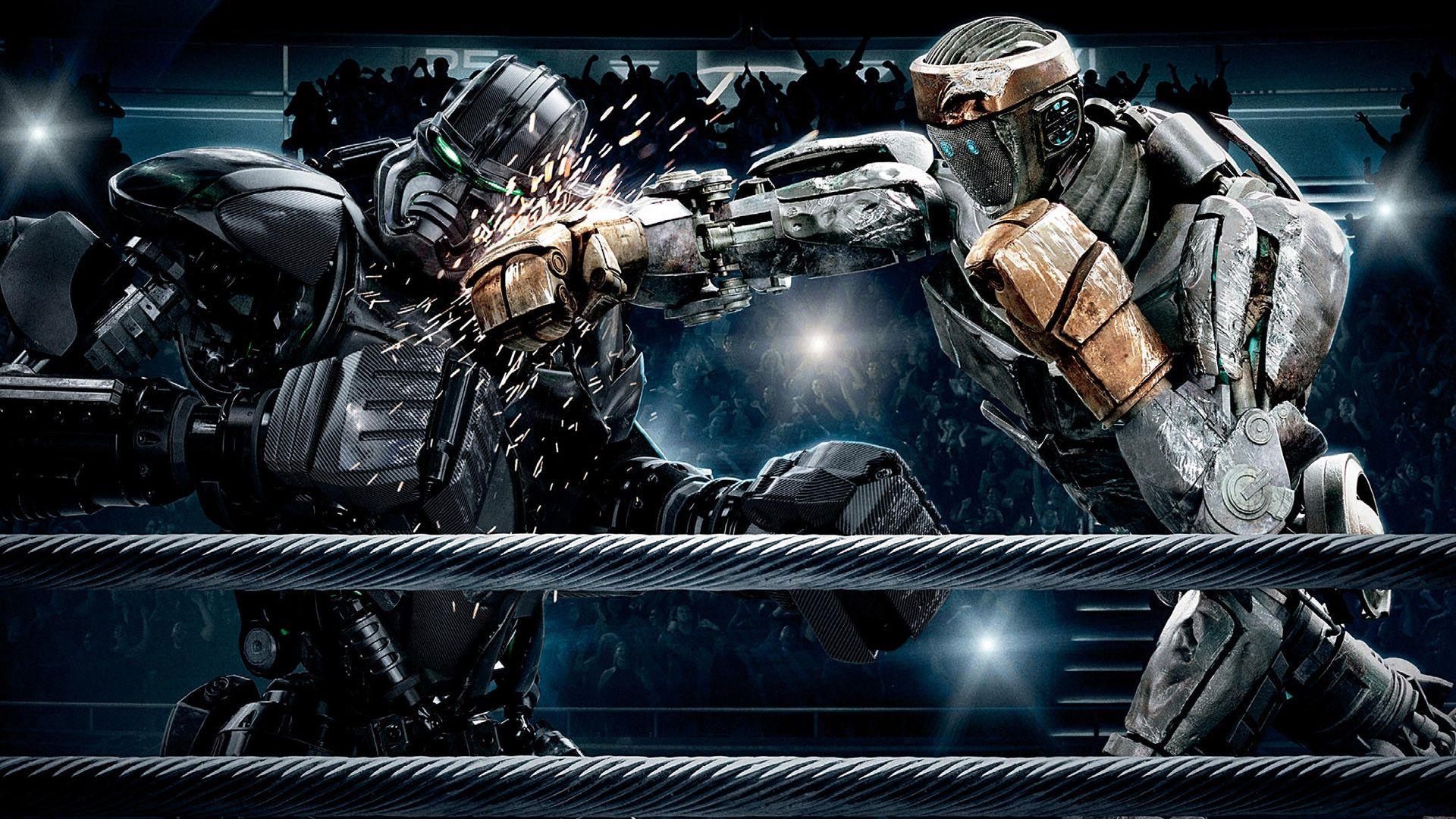 real steel - atom vs zeus wallpaper #realsteel | real steel