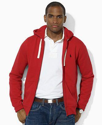 fleece hoodie ralph lauren
