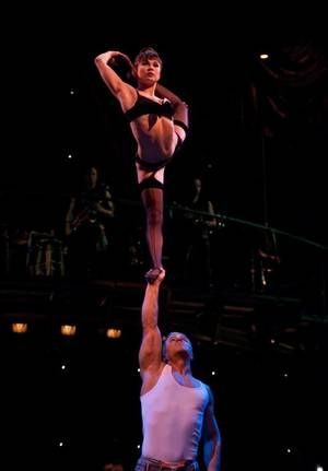 My favorite pair from Zumanity by Cirque du Soleil
