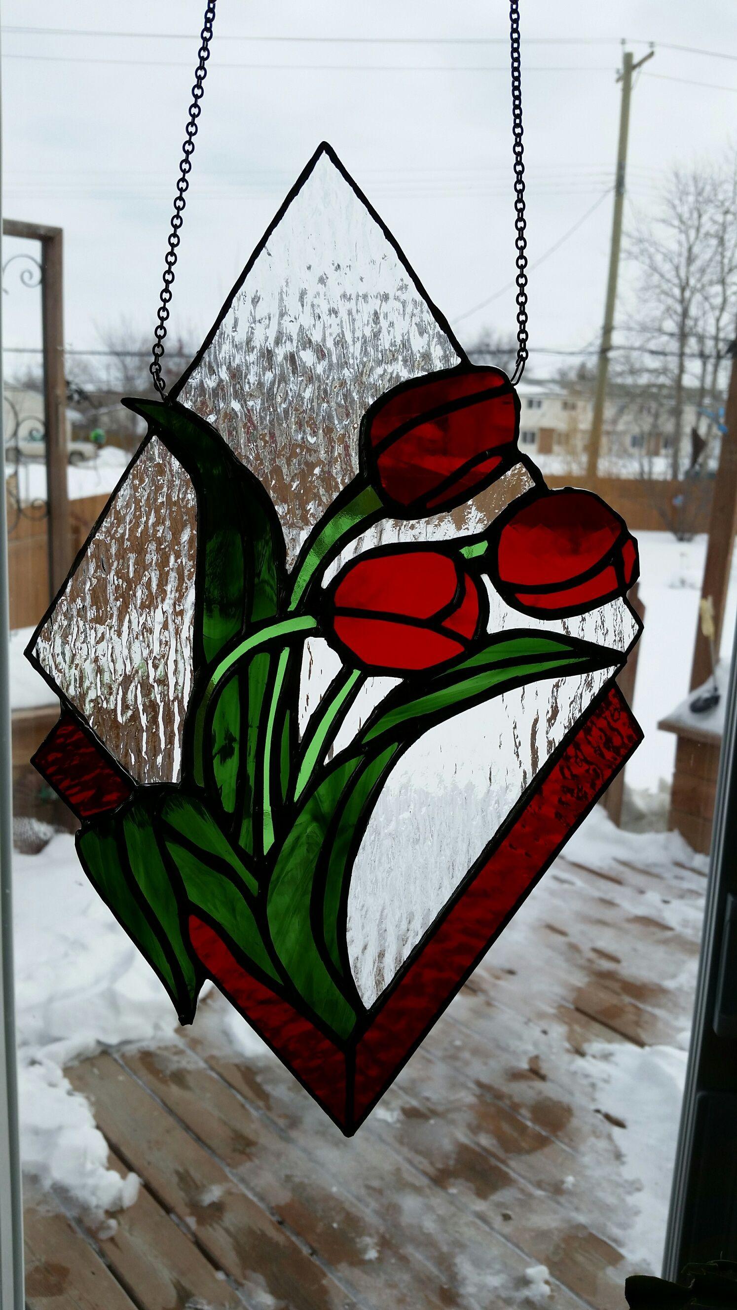 Tulips for Garry and Brenda | Tiffany | Pinterest | Glas