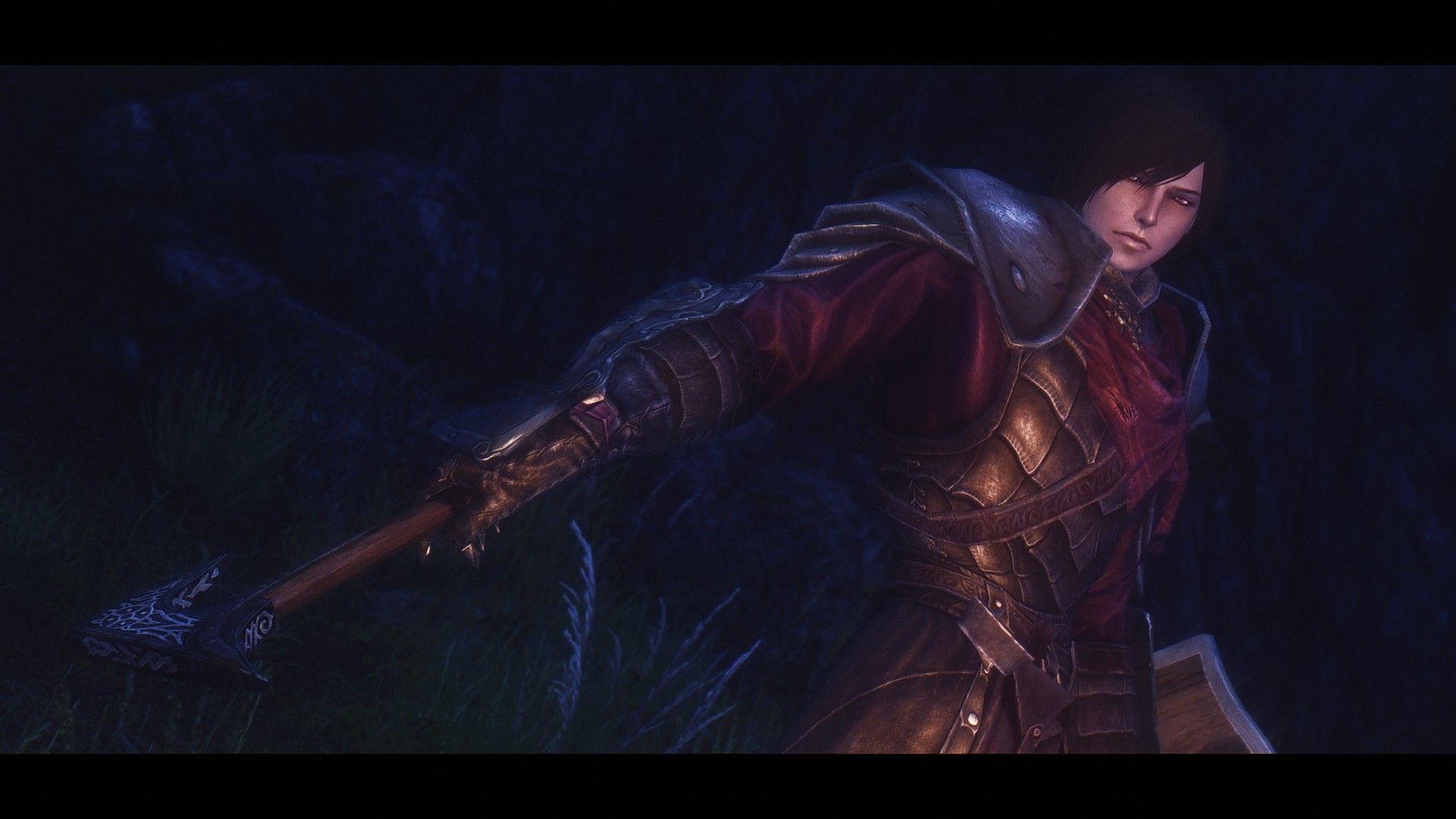 Hubert Ferrier Vampire Male Follower At Skyrim Nexus Mods And Community Skyrim Skyrim Nexus Mods Vampire