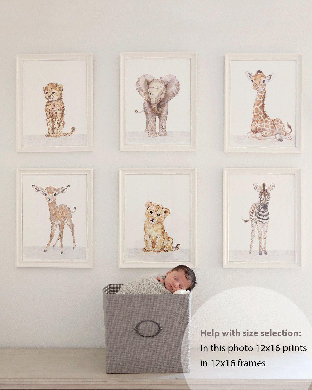 Dschungel Kinderzimmer Dekor afrikanischen Tiere junge