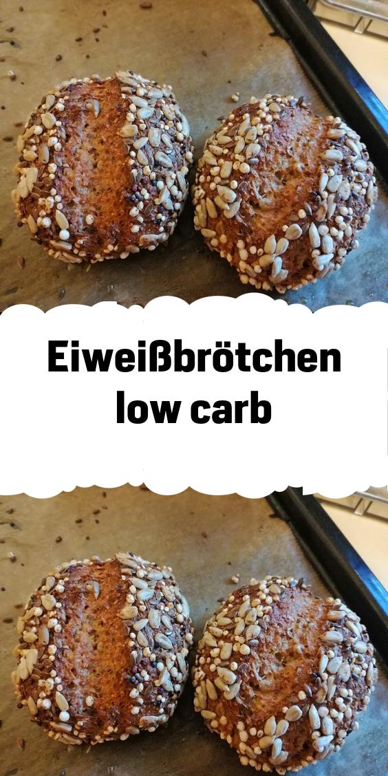 Eiweißbrötchen low carb