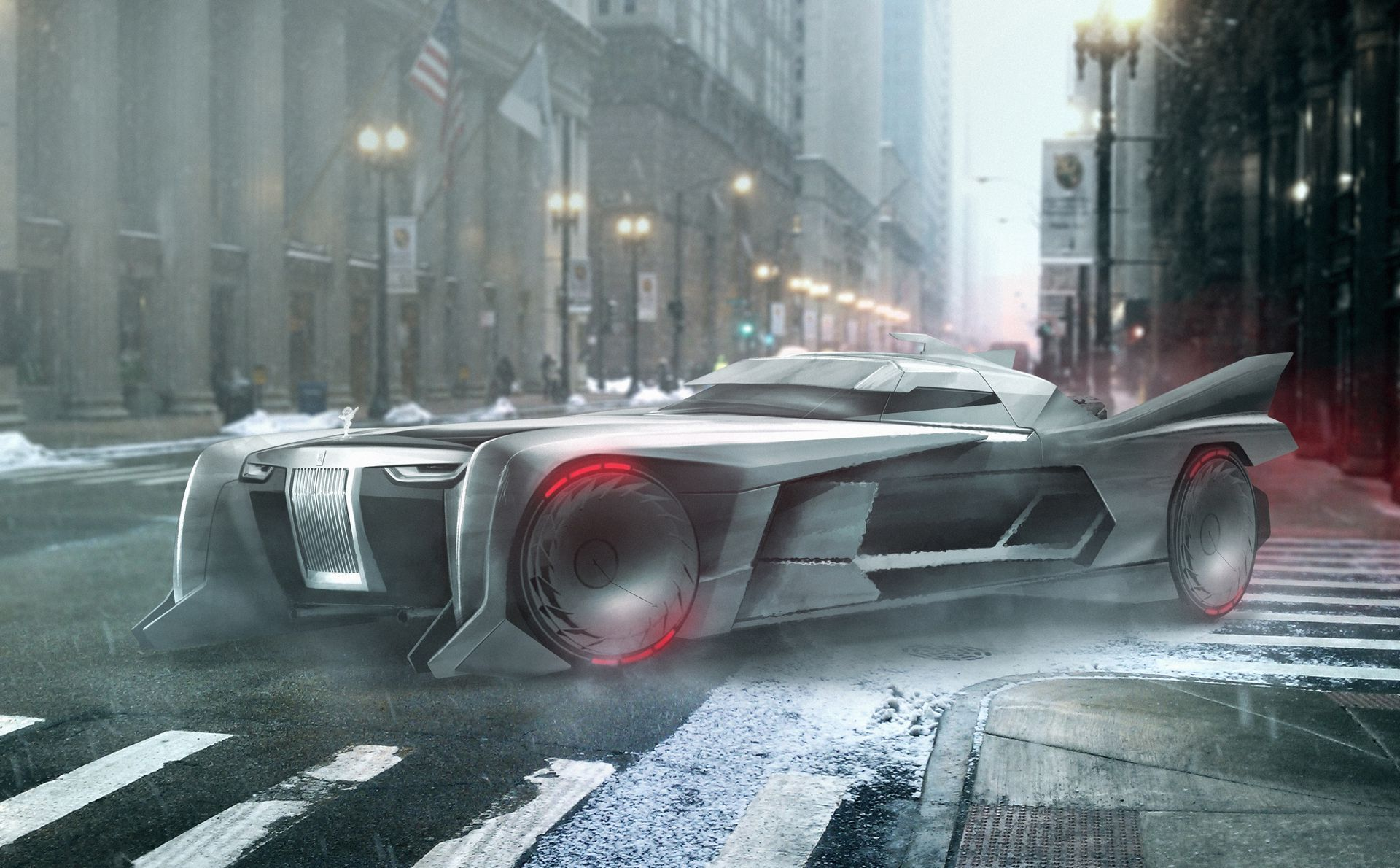 A Rolls Royce Batman Would Approve Of And More Geeky Concepts That
