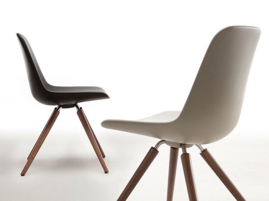 Esszimmerstühle modern rund  TONON Step-Chair wooden legs | 의자 | Pinterest