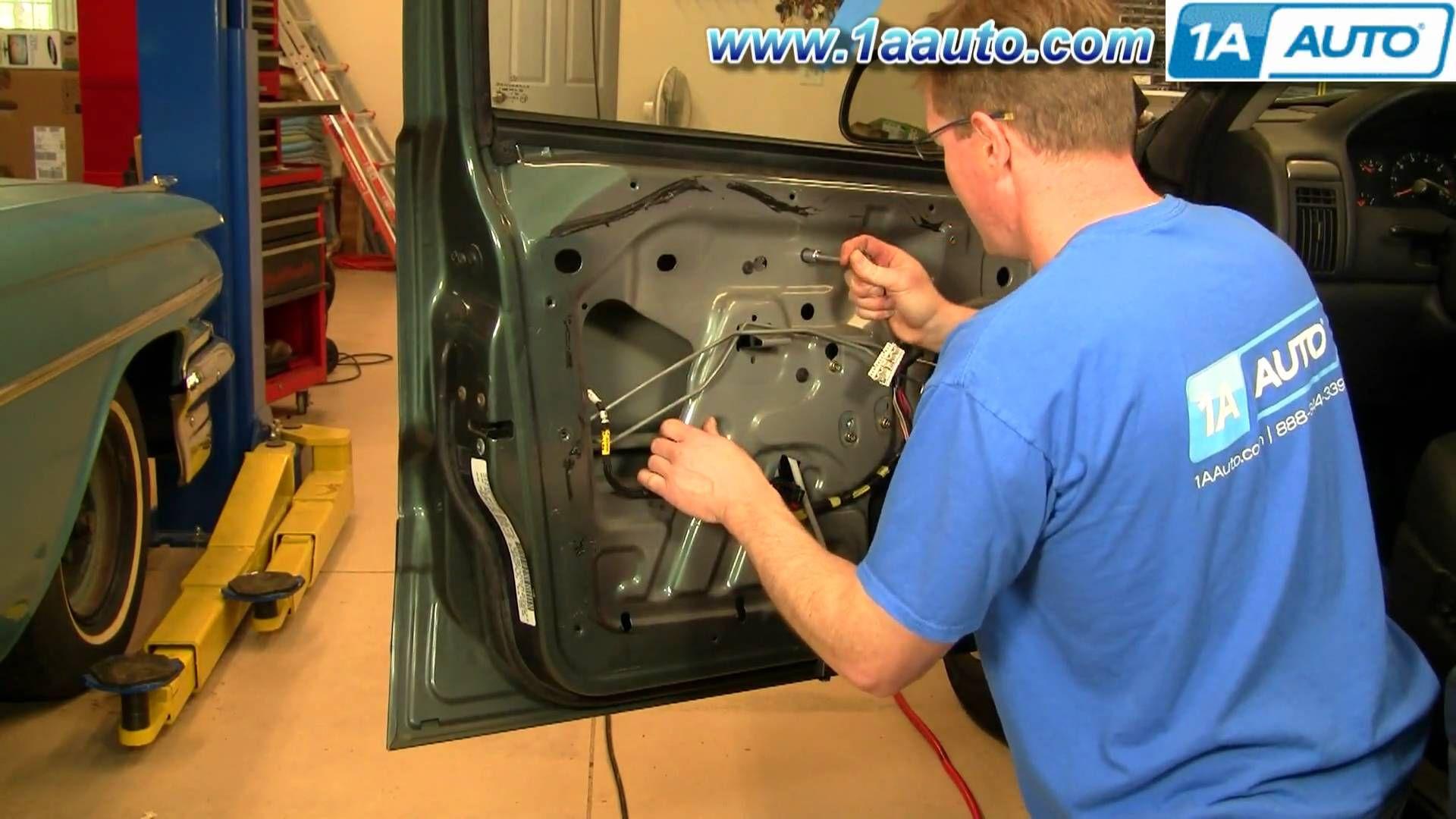 How To Install Replace Window Regulator Jeep Grand Cherokee 99 04 1aau