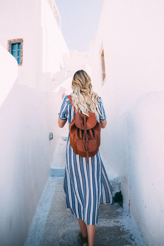 Aadventures in Santorini Greece